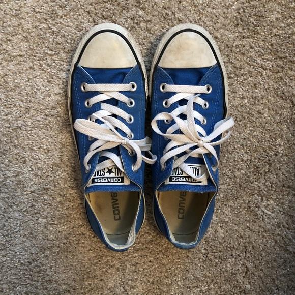 14b73f0b09860a Converse Shoes - ⭐ Converse Low Top Chucks All Star Blue Sneakers